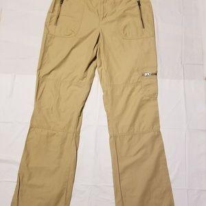 Lauren by Ralph Lauren Tan Beige Cargo Pants Sz 8